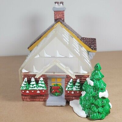 Vintage 1991 Dept. 56 Original Snow Village Village Greenhouse w/ Box Light