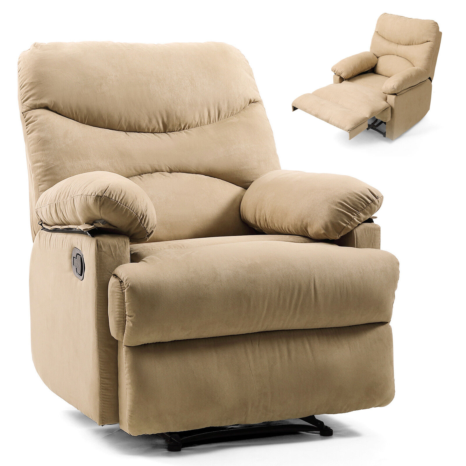 Lazy Style Massage Recliner Chair Zero Gravity Full Body Hea