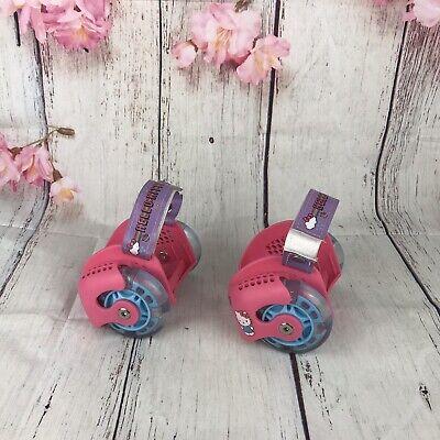 Hello Kitty Led Light-Up Heel Wheel Roller Skates Adjustable for Shoes Girl Kids - Lights For Roller Skates