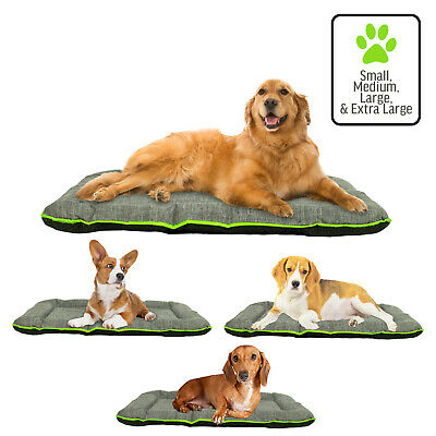 Dog Pet Mat Crate Pad Durable Waterproof Bed Small, Medium, Large, XL, -