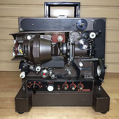 EIKI EX-2000N 16mm Movie Projector no Power Cord