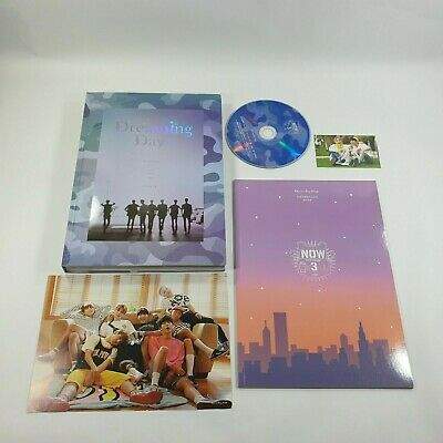 BTS NOW3 Dreaming Days Official DVD Photobook SUGA & J-HOPE Unit Card NOW 3 KPOP