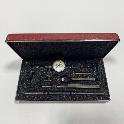 Starrett 711gcsz .001 Last Word Dial Test Indicator W7 Accessories Nice