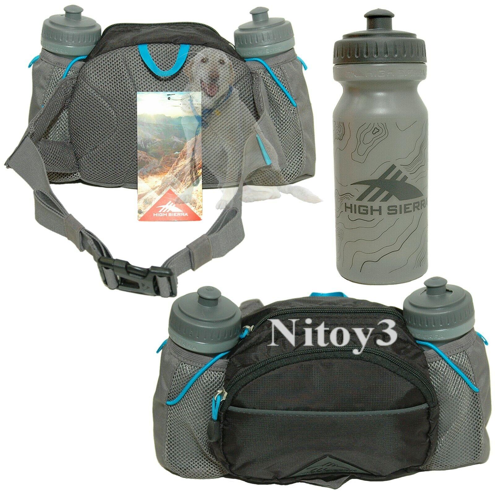 High Sierra Hydrahike 3L Hydration Waist Pack w/ Water Bottl