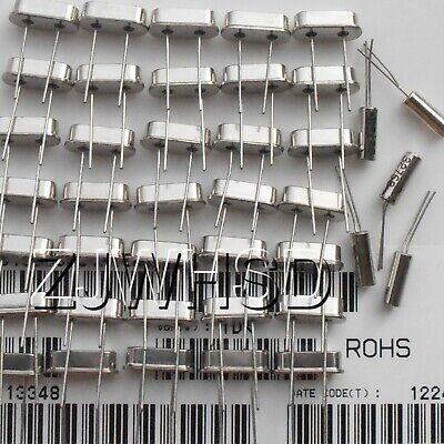 32.768k-25mhz 60pcs 12value Crystal Resonators Oscillator Assorted Kit Set