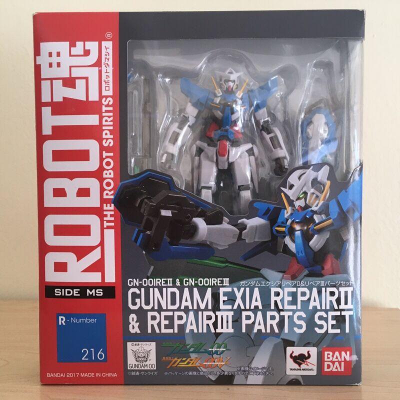 Robot Spirits Gundam Exia Repair II & Repair III Parts Set 00 Bandai