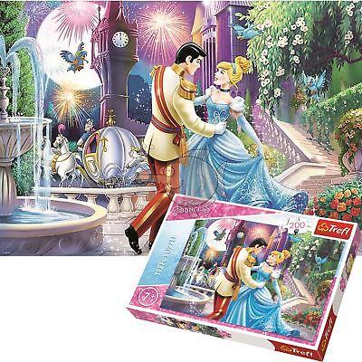 Trefl Disney 200 Piece Jigsaw Puzzle For Kids Cinderella In The Moonlight (Cinderella In The Cardboard)