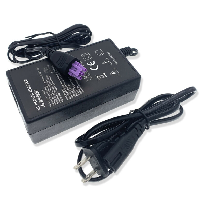 AC Adapter Charger For HP Photosmart Premium Fax C309 Printer Power Supply Cord