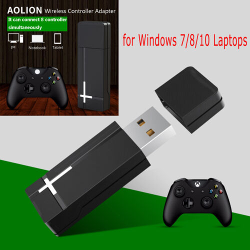 For XBOX ONE Controller PC Wireless Controller Adapter for W