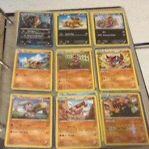 Over 120 Pokemon Cards