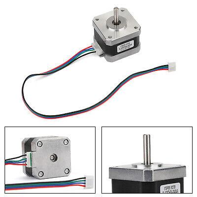 Metal Nema 17 Stepper Motor 0.4a 1224v 42x34mm 1.8for 3d Printer Cnc
