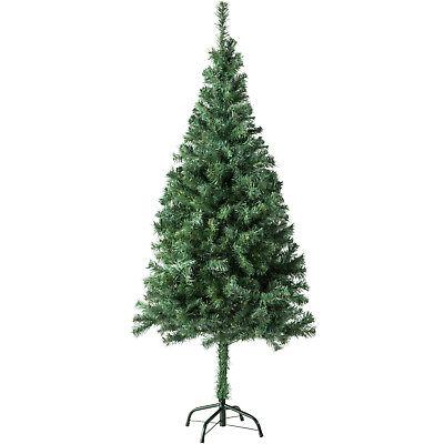 Árbol de Navidad Artificial Arbol Plástico Abeto Interior 310 Ramas 150cm Verde