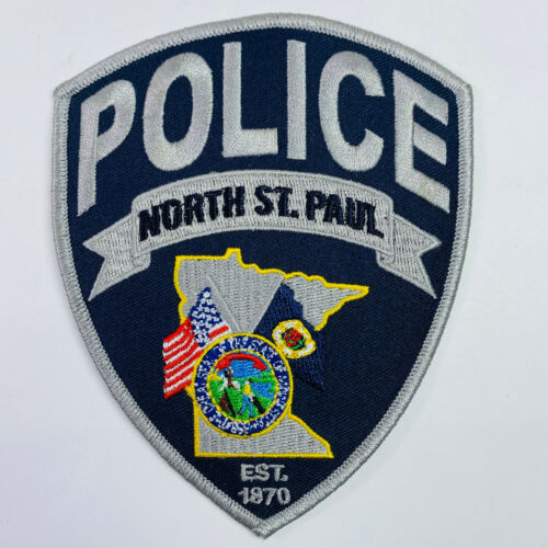 North St Paul Police Minnesota Saint Paul MN Patch (A1)