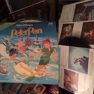 Disney's Peter Pan 1970's recode story book