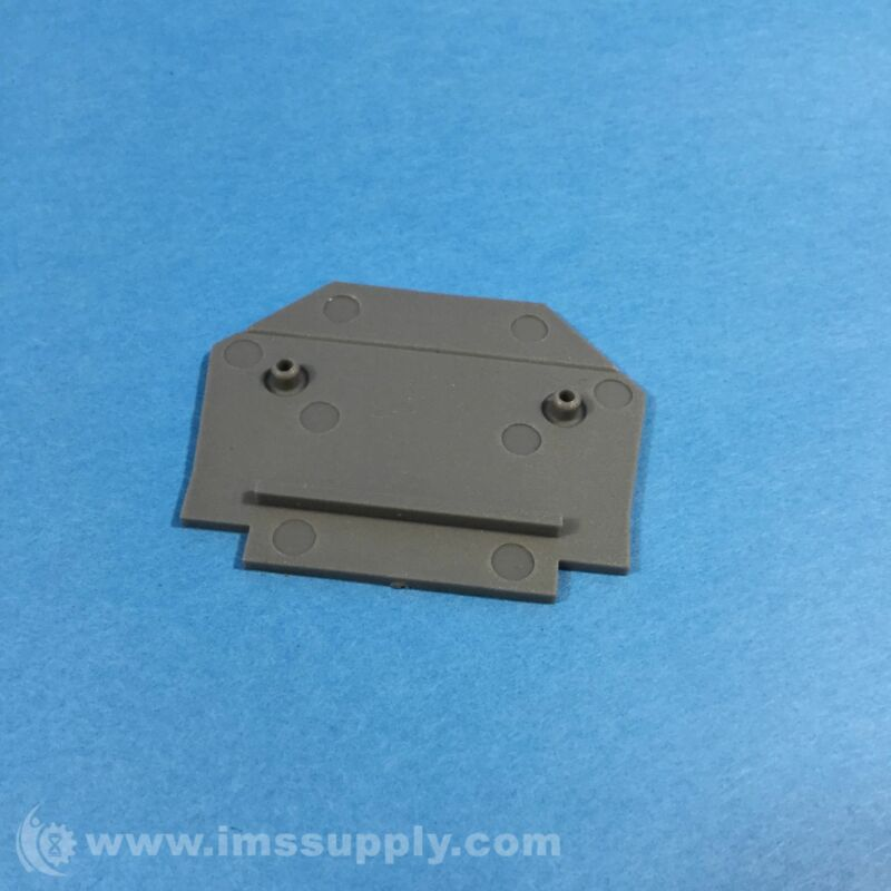 Automation Direct DN-EC1210 Single Level Terminal Block End Cover 3104