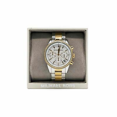 Michael Kors Women's Ritz Watch - Stainless Steel Case - Water Resistant