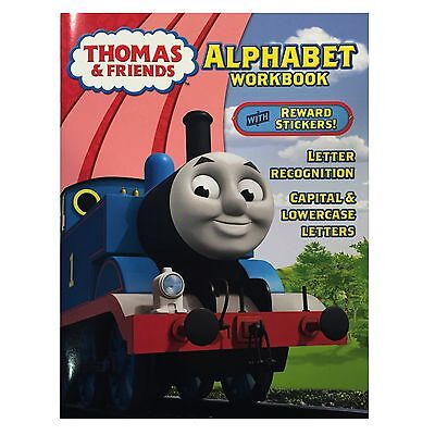 Thomas   Friends Alphabet Workbook  Letter Recognition  Capital   Lowercase