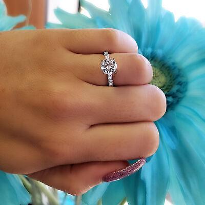 Gorgeous 2.50 Ct. Round Cut Natural Diamond Engagement Ring G VS2 GIA 14k