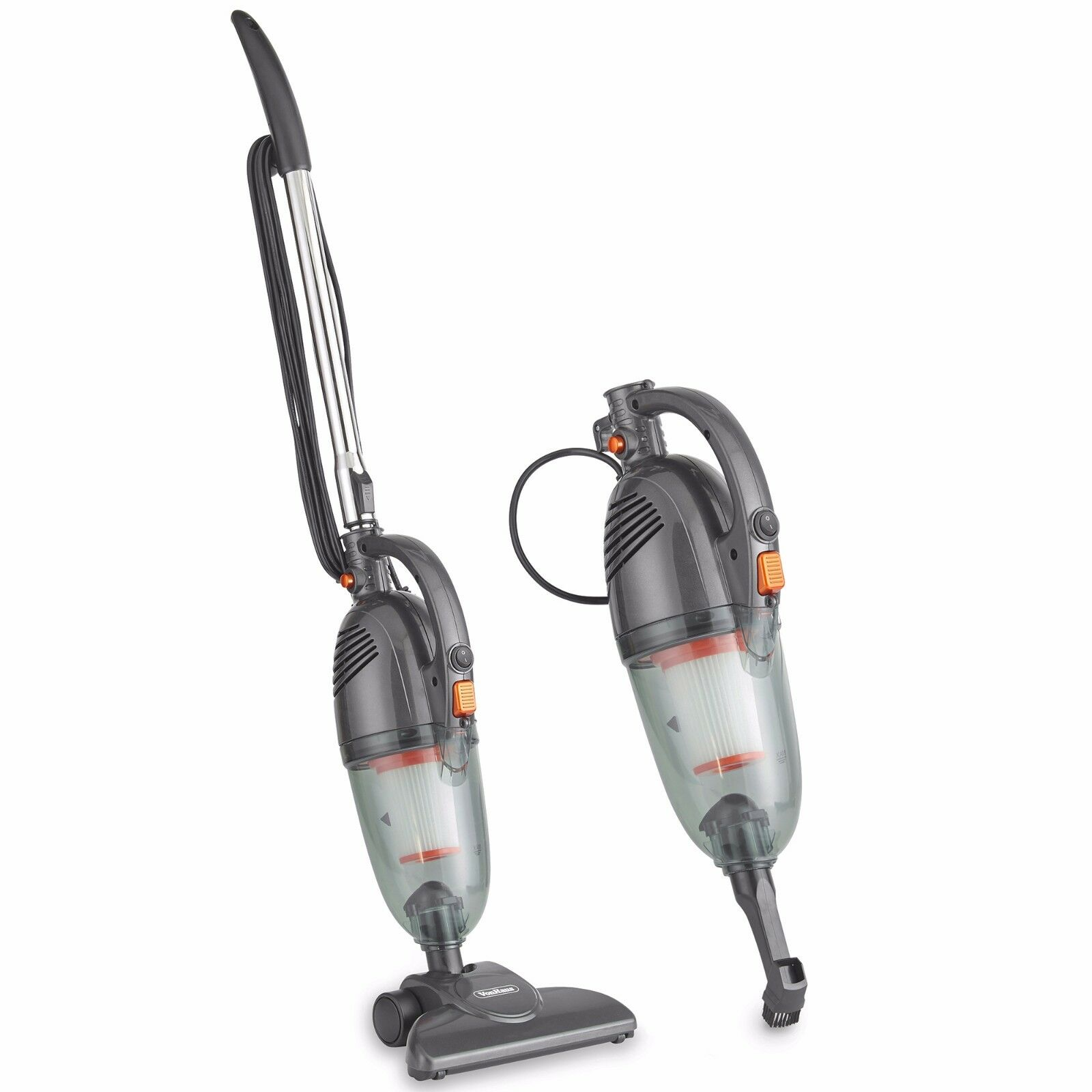 VonHaus 2 in 1 Corded Stick Handheld Vacuum Cleaner Bagless
