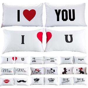 2-pzas-BODA-PAREJAS-cama-funda-almohada-algodon-manta-de-Sofa-Decoracion-Hogar