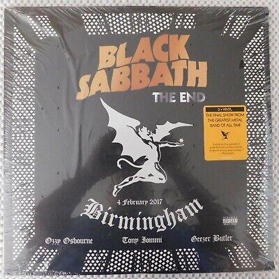 SEALED - BLACK SABBATH - The End Birmingham 4 February 2017 [3 Vinyl LP Set]