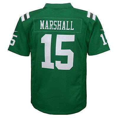 (Brandon Marshall New York Jets Nike Team Color Green Jersey Youth (S-XL))