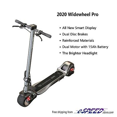 2020 Mercane WideWheel Pro Dual Motor  15Ah Electric Scooter Folding wide wheel