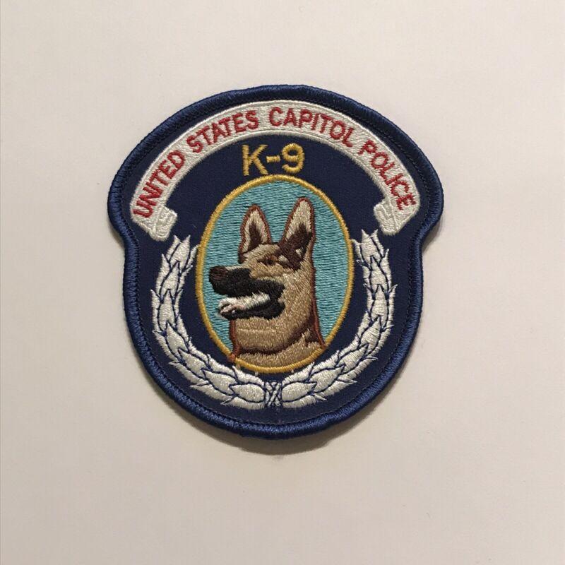 Vintage United States Capitol Police K9 Unit Canine Patch Washington DC Metro