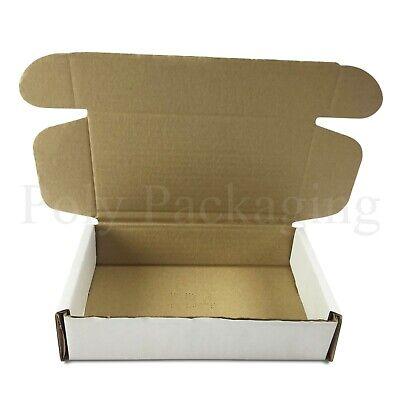 250 x WHITE Posting Boxes 200x120x50mm(8x5x2