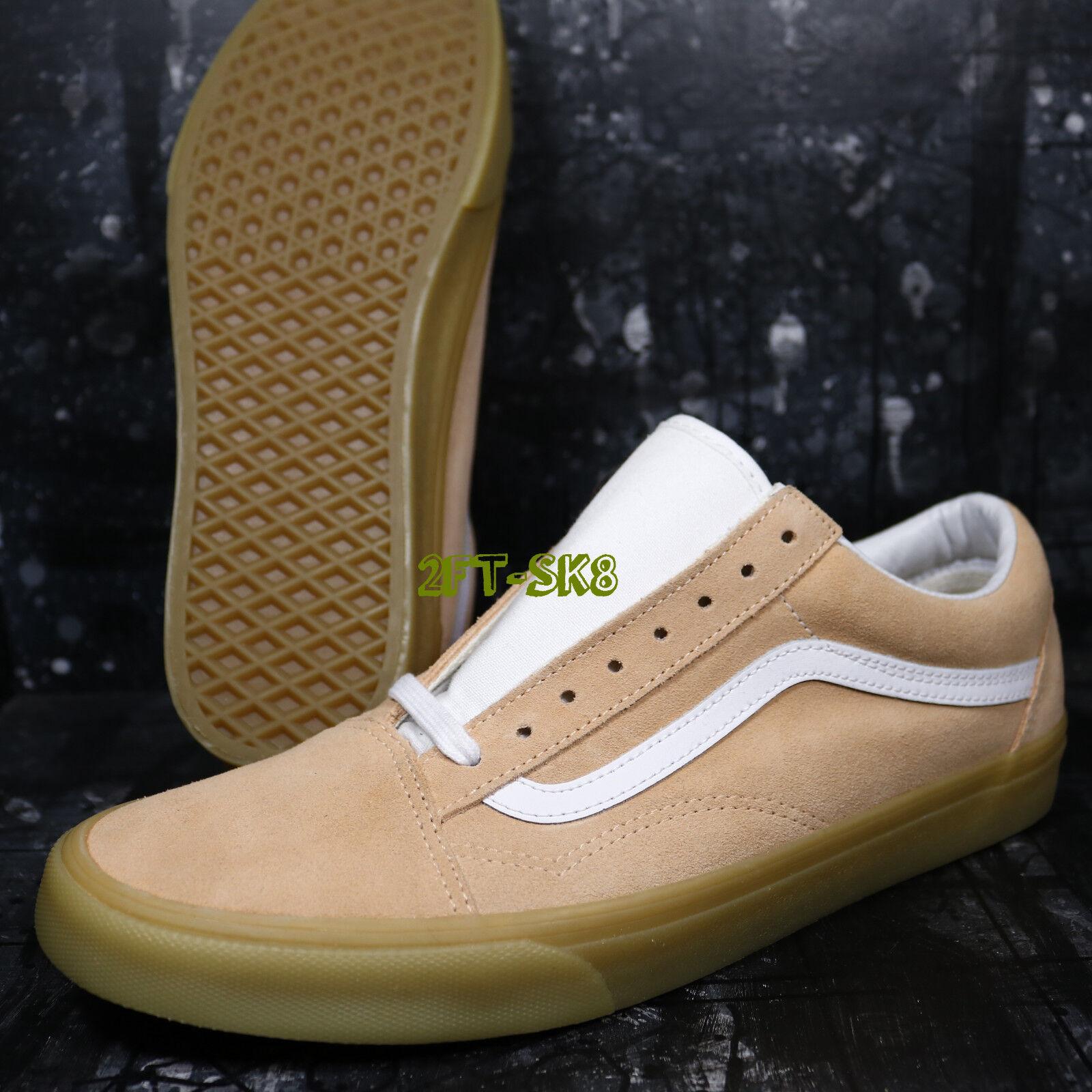 Vans Old Skool Double Light Gum apricot Herren Skate Schuhes8a154.222