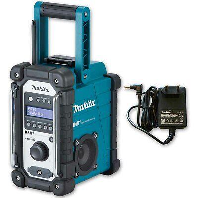 Makita DMR 110 Baustellenradio DAB DAB+ Digital Akkuradio inkl Netzteil  MA50223 gebraucht kaufen  Deutschland