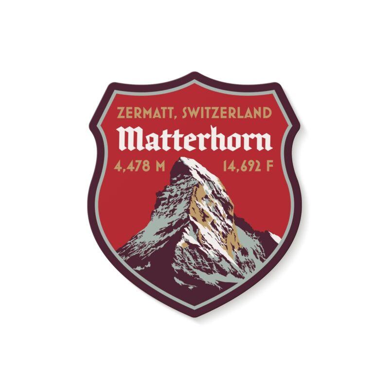 Matterhorn Switzerland Decal Sticker