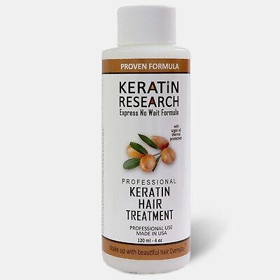 Brazilian Keratin Blowout Treatment 120ml with Moroccan Argan oil MADE IN USA