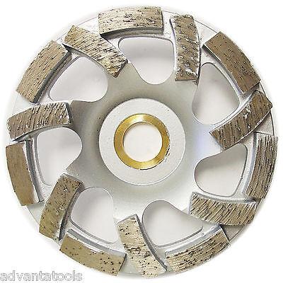 4 Turbo Diamond Cup Wheel For Concrete Stone Masonry Grinding 78-58 Arbor
