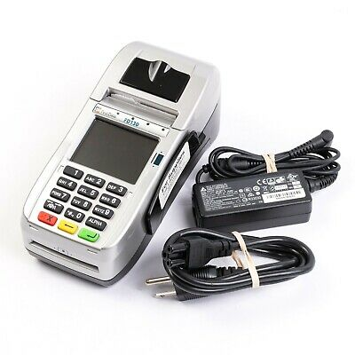 First Data Fd130 Point Of Sale Credit Card Terminal Swipe Chip Reader
