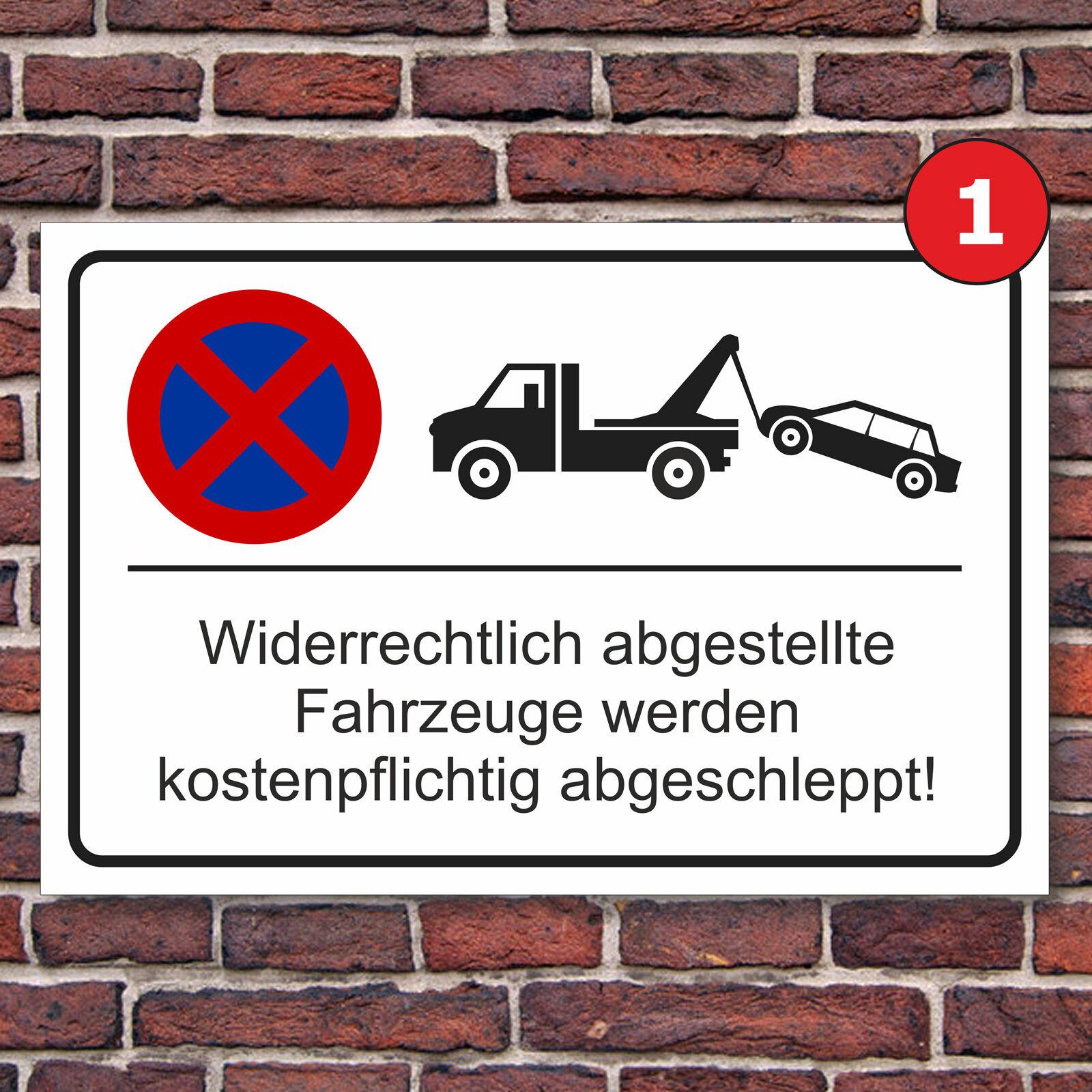parkplatzschild parkverbot parken verboten halteverbot hinweisschild parkplatz eur 5 99. Black Bedroom Furniture Sets. Home Design Ideas