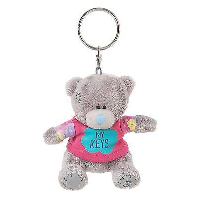 "Me to You 3"" 'My Keys' Key Ring Soft Plush & Cute T-Shirt - Tatty Teddy Bear"