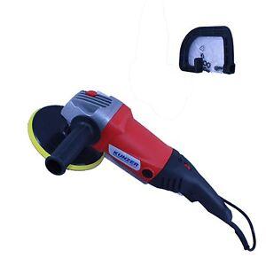 Kunzer Elektro Poliermaschine Testsieger 2012 3-tlg. Set 7PM03