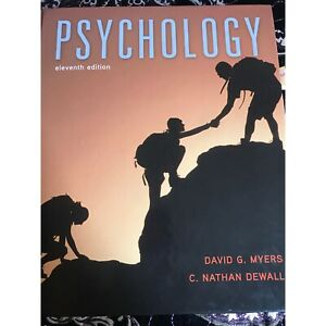 Psychology 11th edition social work and social science textbook Blair Athol Port Adelaide Area Preview