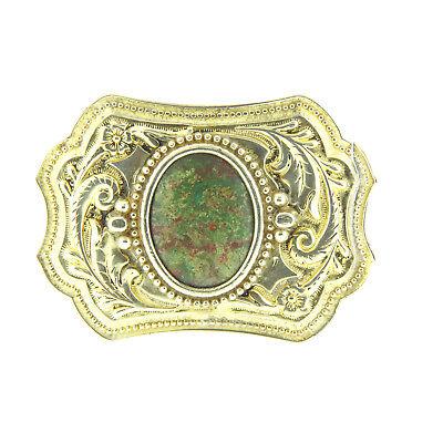 Пряжки Vintage Turquoise Belt Buckle Silver