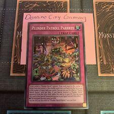 Ultra Rare 1x Emblem of the Plunder Patroll 1st Edition NM YuGi ETCO-EN089