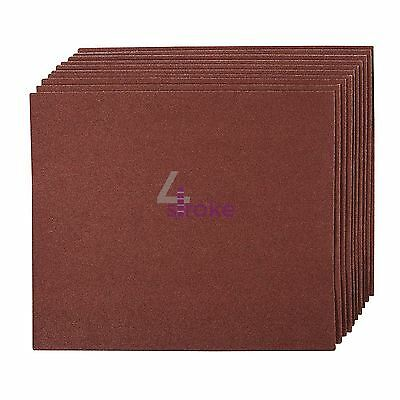 Emery Cloth Hand Sanding Sheets 10pk Grit 120 Best For Metal & Rust