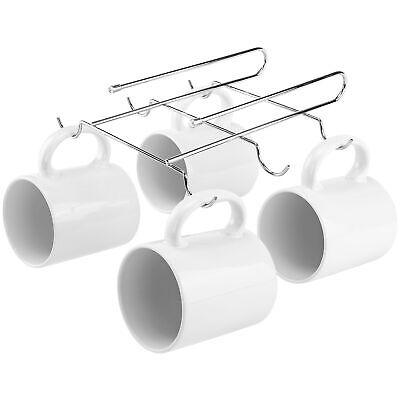 Unter Regal Becher Rack Metall Chrom Halter Küche Speisekammer Küchenschrank ()