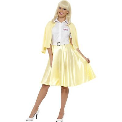 Sandra Dee Grease (Grease Good Sandy Sandra Dee Disco Glamour Womens Ladies Fancy Dress)