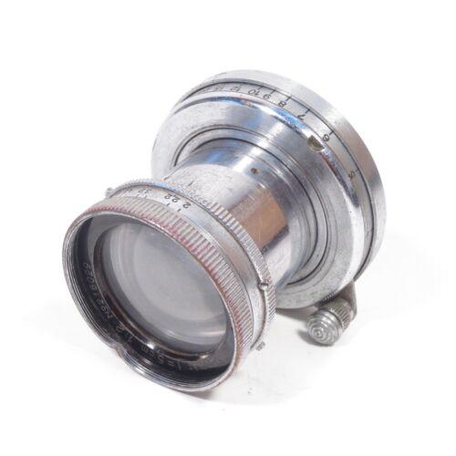 Leica Leitz Summar 5cm f/2 M39 Mount Film Camera Lens