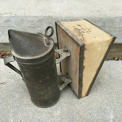 Vintage 9 Long Bee Smoker Or Duster