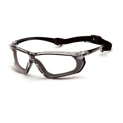 Pyramex Crossovr Clear Lens Anti Fog Safety Glasses Goggles Sbg10610dt