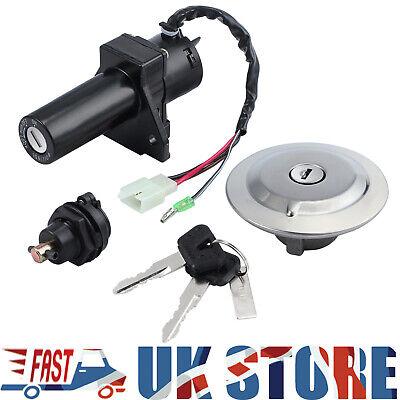 Ignition Switch Keys Lock Set Gas Cap Seat Fuel For Yamaha YBR125 05-14