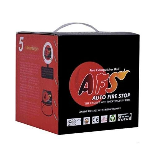 AFS Auto Fire Stop Fireball -  Automatic Fire Activated Extinguisher Ball