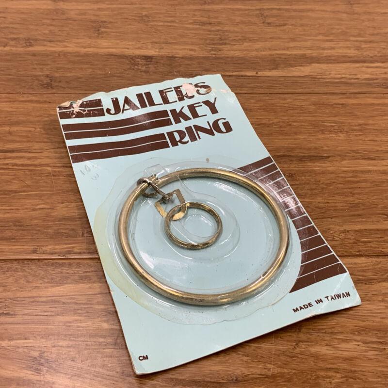NOS Unused Vintage Brass Jailer